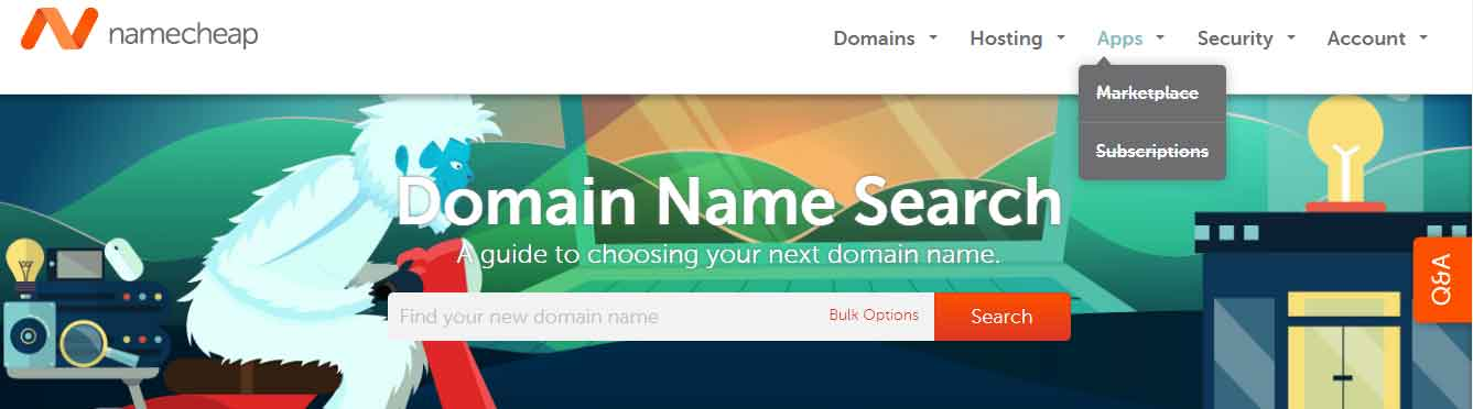 namecheap - Cheap domains, Free Whois protection and Free SSL