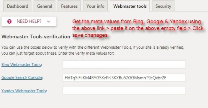 Verify and add your website on Webmaster tools bing, Google search console and Yandex