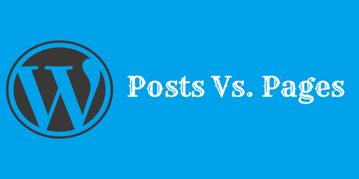Here you will difference between wordpress page vs post