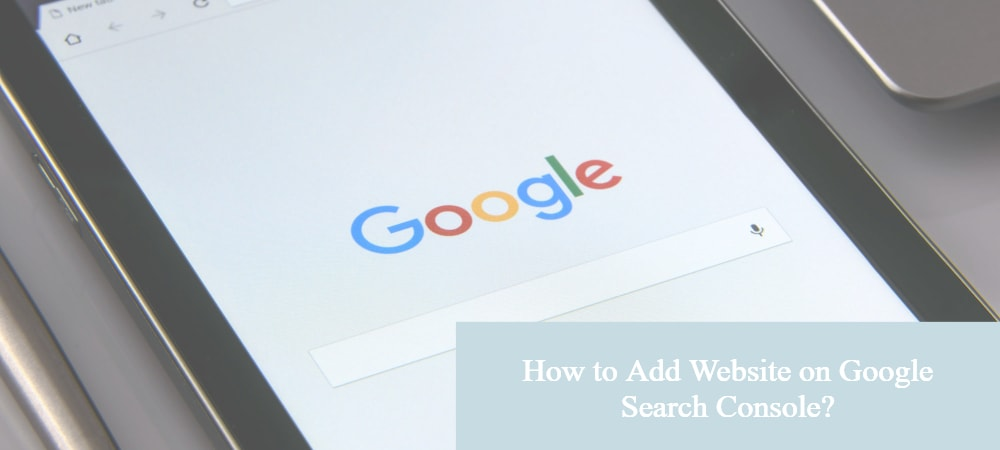 add website on Google search console