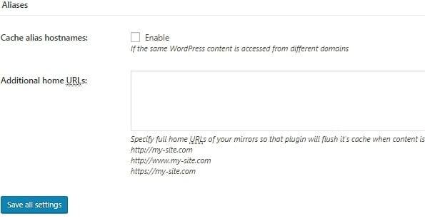 page cache aliases