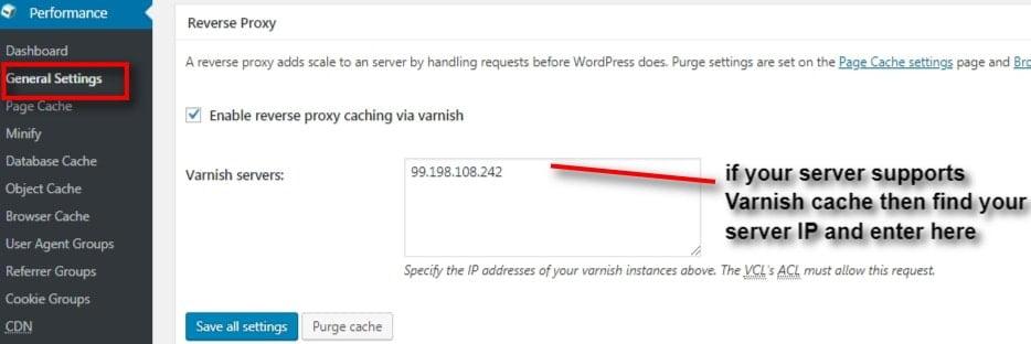 w3 total cache reverse proxy