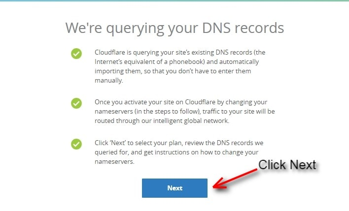cloudflare scans your DNS