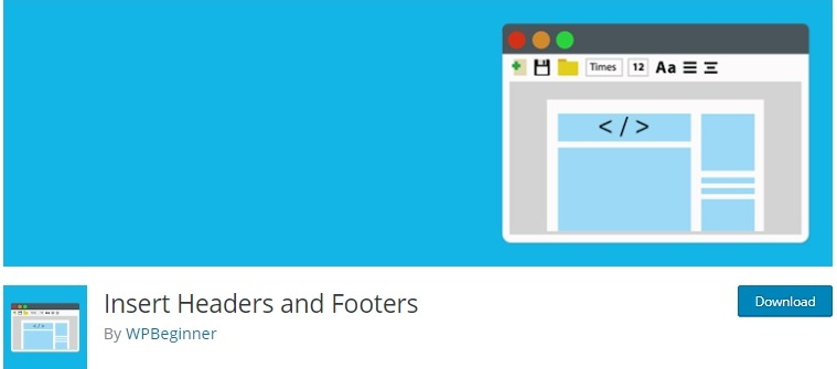 insert headers and footers wp plugin