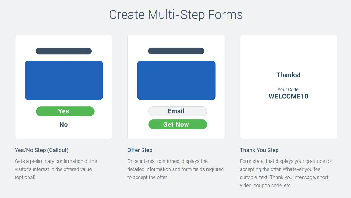 Convertful Multi-Step Forms