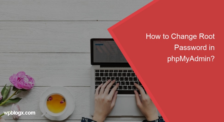 how to change root password in phpmyadmin