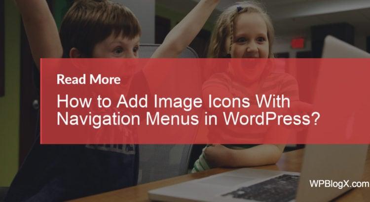wordpress dropdown menu with images