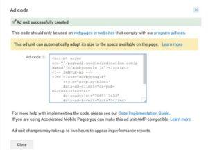 add code window