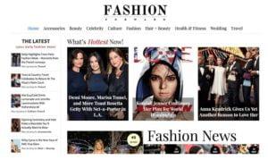 Fashion Forward WordPress theme