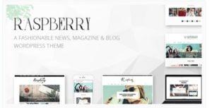 Raspberry WordPress theme