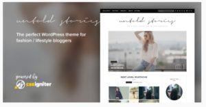 Untold Stories WordPress theme