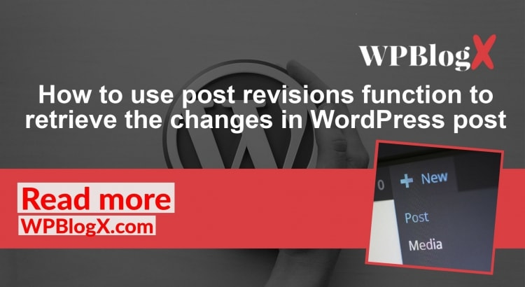 Wordpress Post Revisions